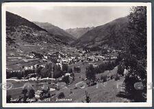 BRESCIA PONTE DI LEGNO 57 Cartolina FOTOGRAFICA viaggiata 1958