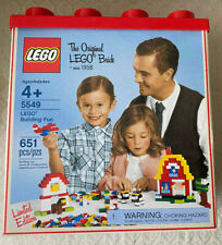 NIB The Original Lego Brick 5549 Building Fun Sealed Limited Edition Retired
