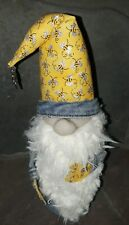 Bee Gnome handmade, no two are alike, 15""