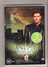 ANGEL SEASON 3 PART 1 As new 3 disc set