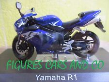 MOTO  1/24  YAMAHA  R1  2005 COLLECTION GM MOTORRAD MOTORCYCLE