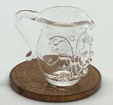 1:12 SCALA Panna e arancio vaso in ceramica 3.5cm tumdee Ornamento Casa Delle Bambole Cro12