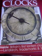 CLOCKS MAGAZINE DECEMBER 2003 FfOLLIOT GRAY DUO ELECTRIC LENZKIRCH GALLOWAY
