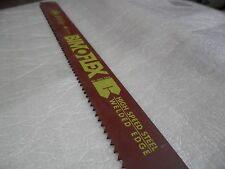 BIMOFLEX ETM Hacksaw Blade High Speed Steel Welded Edge 4 TPI 450 x 40 x 2.0mm