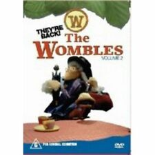 Wombles DVD_VOLUME 2_RARE KIDS PUPPET TV SERIES - Over 2 Hours