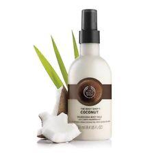 The Body Shop COCONUT Nourishing Body Milk Smoothing Gentle Moisturizer 8.4 oz