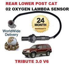 FOR MAZDA TRIBUTE 3.0 V6 2001-2004 REAR LOWER POST CAT 02 OXYGEN LAMBDA SENSOR