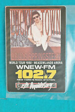 BRUCE SPRINGSTEEN BACKSTAGE PASS - WORLD TOUR 1992  - 25TH ANNIVERSARY - OTTO