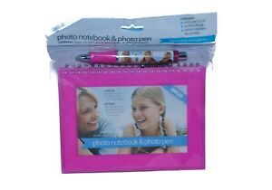 Shot to go Notebook and Pen Pink