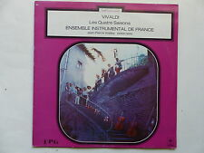VIVALDI Quatre saisons Ensemble instrumental France JEAN PIERRE WALLEZ 340049