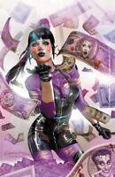 🔥🤡🗡 PUNCHLINE #1 GREG HORN Exclusive Virgin Variant Cover C Joker War NM