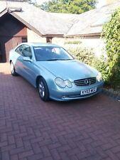 Mercedes clk 270 2.7 diesel coupe blue mot car