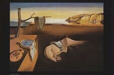 SALVADOR DALI ~ PERSISTENCE OF MEMORY 24x36 ART POSTER Fine Print NEW/ROLLED!