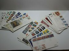 More details for 36  british first day of issue cover1986-1990 f.d.c. rare bundle.