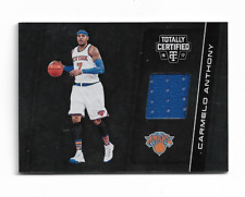 CARMELO ANTHONY 2016/2017 TOTALLY CERTIFIED GAME JERSEY #1 $25.00 TRAILBLAZERS