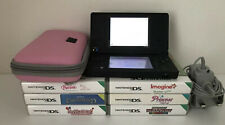 Nintendo DSi Matt Black Handheld System With 6 Games, Case & Charger.