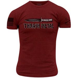 Grunt Style Thrash Metal T-Shirt - Cardinal