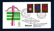 SAN MARINO - 1974 - IX° Torneo della balestra su FDC Venetia