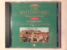 HARTMUT HAENCHEN Mozart: symphonies n. 35, 38, 40 cd THE MASTERWORKS VOL. 3