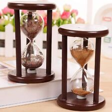 Vintage Hourglass Sand Timer Handmade Brass Nautical Antique Maritime Hour Glass