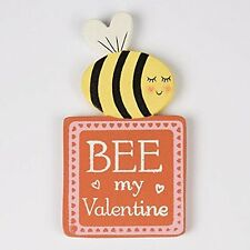 Sass & Belle Mini Bee My Valentine Shabby Chic Fridge Magnet Gift Idea 8cm x 4cm
