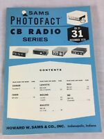 Sams Photofact CB Radio Series Volume CB-31 December 1970 Service Manual