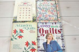 Lot 4 How To Books Quilting Patchwork Patterns Quilt Making Guide Bonesteel