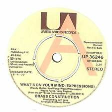 "Brass Construction - What's On Your Mind (Expressions) - 7"" Vinyl Record"