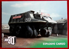 JOE 90 - EXPLOSIVE CARGO - Card #17 - GERRY ANDERSON COLLECTION - Unstoppable
