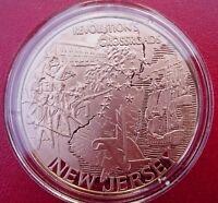 New Jersey Bicentennial Medal. Franklin Mint Bronze PROOF