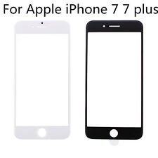 New Front Outer Screen Glass Lens Panel For Apple iPhone 7 7 plus Black White