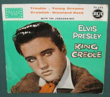 Elvis Presley 75.475 King Creole EP France Original 1960 Yellow label
