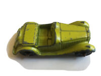 Vintage Tootsie Toy Diecast Green MG Roadster Coupe Cars Chicago USA Metal