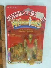 DIE-CAST TREASURES OF THE TEMPLE MOTU KO WARRIORS ACTION FIGURE AGGLO MOC #4