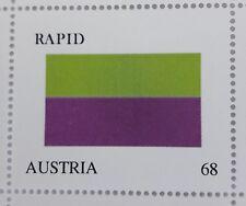 PM AUSTRIA-RAPID Personalisierte Briefmarke violett/grün