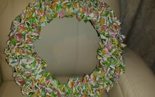 NEW~EASTER BUNNY WREATH~FREE SHIPPING