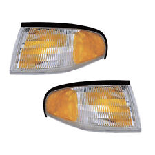 Parking Corner Signal Lights Pair Set for 94-98 Ford Mustang Left & Right