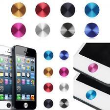 Aluminium Protector Home Button Stickers for IPhone 4 4S 5s 5c 5 Ipad Mini