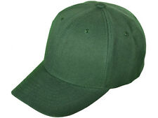12 (1 dozen) New Green Baseball /Golf Hats - Poly - Adjustable - Nice Quality