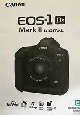 Canon EOS 1Ds Mark II Manual - Printed & Professionally Bound Size A5 - NEW