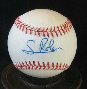 Scott Rolen Signed ONL Baseball COA, Phillies, Cardinals, Reds, Blue Jays