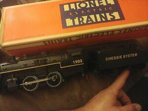 lionel trains o gauge Chessie 1993