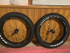 "New Sun Ringle MuleFut 80SL Fat Bike Rims with Maxxis Minion FBR/FBF 4.8"" Tires"