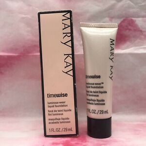 Mary Kay TimeWise Luminous-Wear Liquid Foundation Beige 2. New