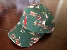 Polo Ralph Lauren Hunting Cowboy Western Rodeo Print Cap Hat New