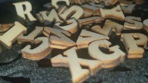Wooden Letters 100 Pcs. wooden alphabet letters, 14.5 mm long