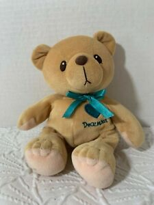 "Enesco Cherished Teddies plush stuffed animal DECEMBER 8"" tall"