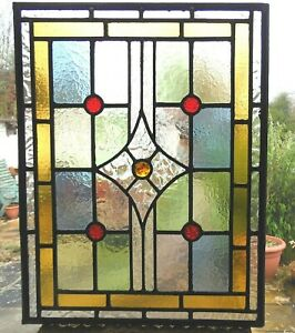 STUNNING HAND CRAFTED STAINED GLASS PANEL - REF SG468 - see other listings