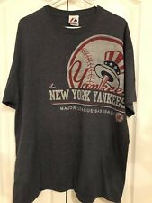 NEW YORK YANKEES NYY VINTAGE MAJESTIC SHIRT MENS TOP SIZE XL EXTRA LARGE