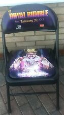 WWE Royal Rumble 2012 PPV Event Chair St. Louis